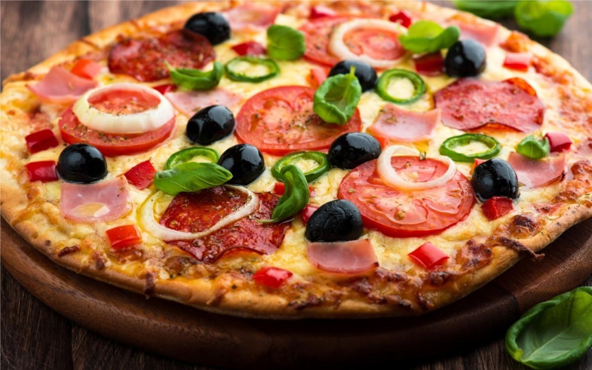 5% DESCONTO QUALQUER PIZZA