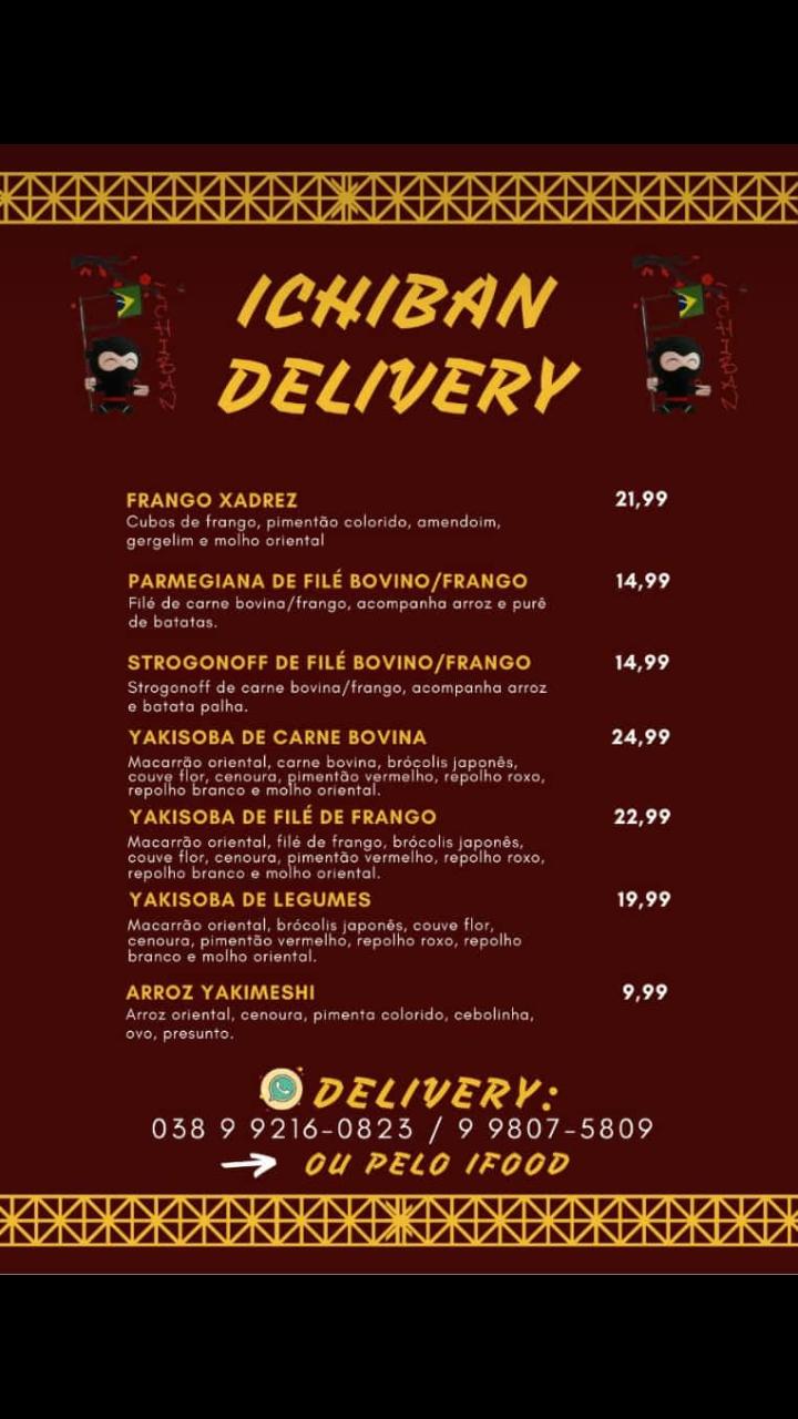 Ichiban delivery moc
